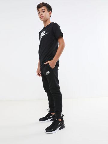 מכנסי טרנינג לוגו עם רוכסן מודגש Tech Fleece / בנים