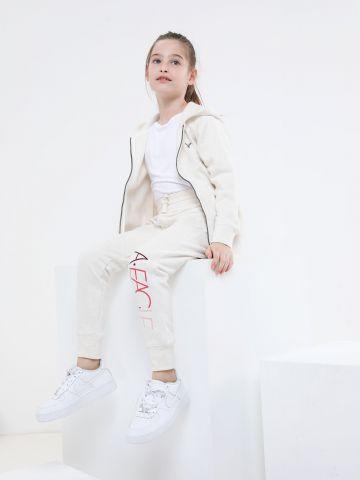 מכנסי טרנינג פוטר עם לוגו