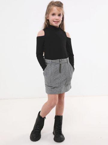 חצאית מיני בהדפס פפיטה