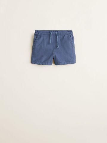 מכנסי ברמודה עם גומי מותן / בייבי בנים
