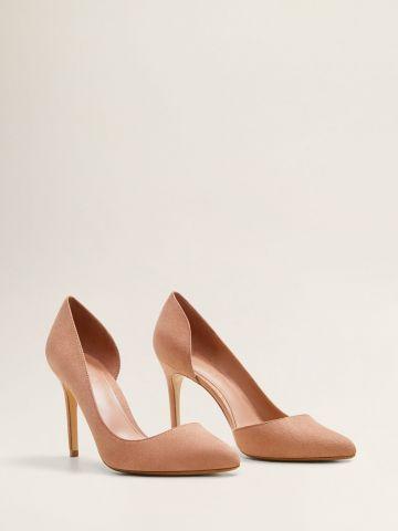 נעלי עקב סטילטו אסימטריות