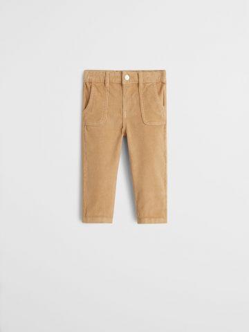 מכנסי קורדרוי עם כיסים /9M-4Y