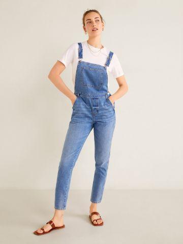 אוברול ג'ינס ארוך