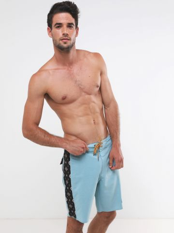 מכנסי בגד ים מולטי פרינט