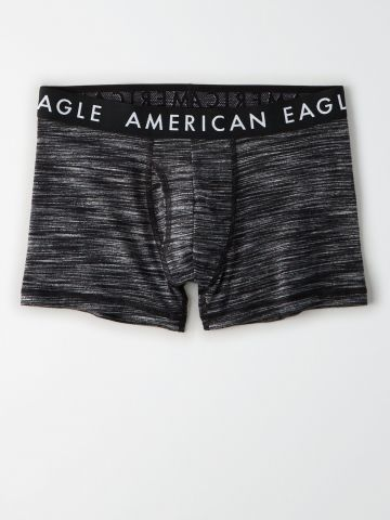 תחתוני בוקסר ג'רסי מלנז' לוגו / גברים של AMERICAN EAGLE