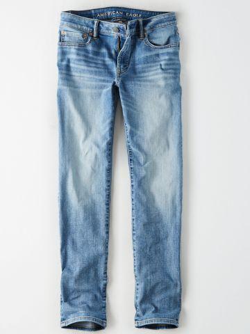ג'ינס Slim בשטיפה בהירה / גברים
