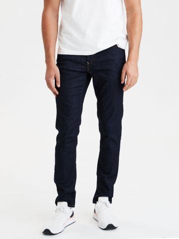 ג'ינס סקיני בשטיפה כהה של AMERICAN EAGLE