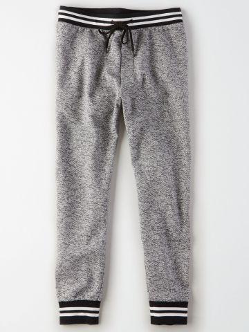 מכנסי טרנינג בדוגמת משבצות / גברים