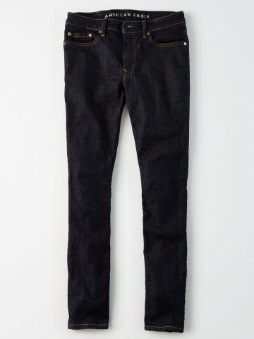 ג'ינס סלים בשטיפה כהה / גברים