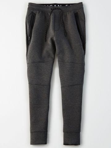 מכנסי טרנינג סקיני עם כיסים / גברים