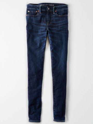 ג'ינס סקיני בשטיפה כהה / גברים