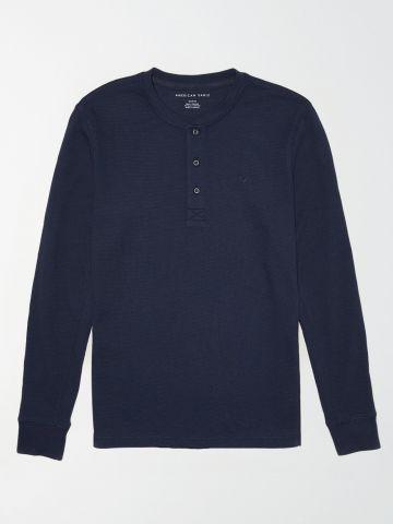 חולצת פיקה עם כפתורים / גברים