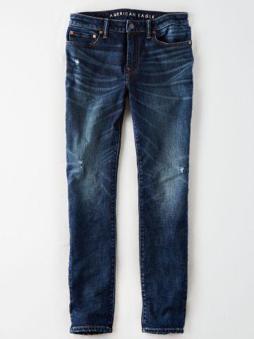 ג'ינס Slim בשטיפה כהה / גברים