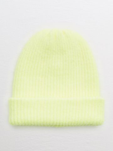 כובע גרב ריב ניאון / נשים