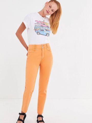 ג'ינס Mom בגזרה גבוהה BDG