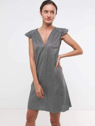 שמלת מיני גליטר עם מלמלה X שושיין