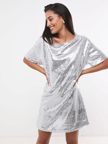 שמלת טי שירט פאייטים