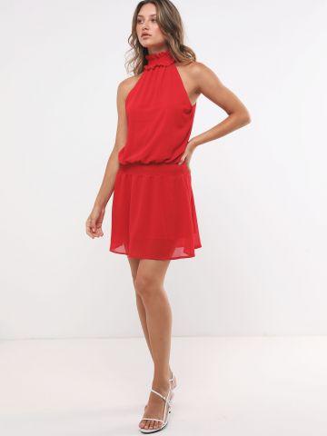 שמלת מיני קולר מלמלה