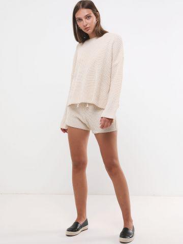 חליפת סוודר שני חלקים