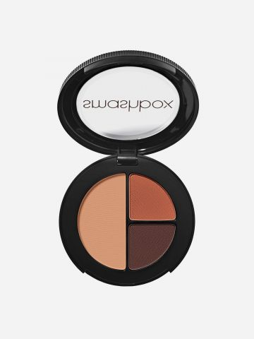 שלישיית צלליות Photo Edit Eye Shadow Trio / Nudie Pic-Deep