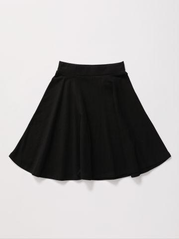 חצאית מיני עם גומי / בנות