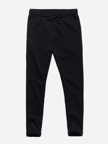 מכנסי טרנינג ארוכים עם גומי / בנות