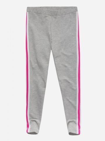 מכנסי טרנינג פוטר עם סטריפים בשני צבעים / בנות