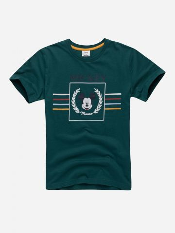 חולצה עם הדפס מיקי מאוס / בנים