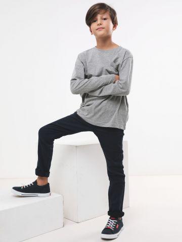 ג'ינס ארוך עם תפרים מודגשים / בנים