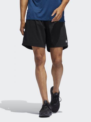 מכנסי ריצה קצרים עם לוגו