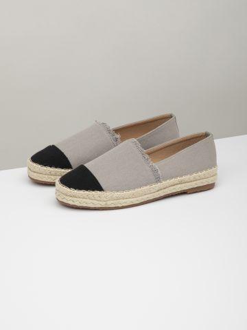 נעלי מוקסין אספדריל שני צבעים