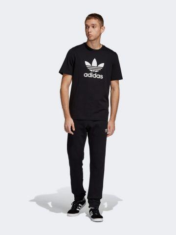 מכנסי טרנינג עם רקמת לוגו