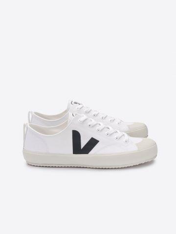 נעלי סניקרס Nova Canvas עם לוגו / גברים
