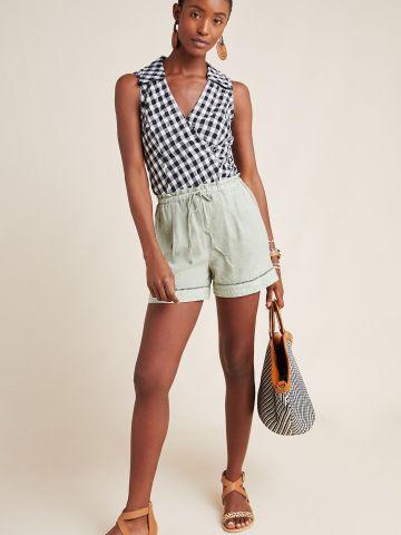מכנסיים קצרים עם סטריפ רקמה Cloth & Stone