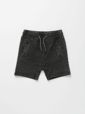 מכנסי ברמודה ג'ינס / 3M-3Y