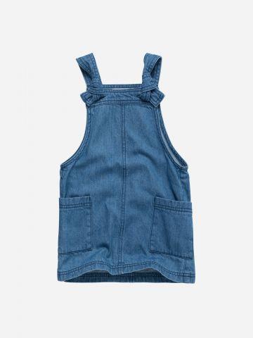 שמלת ג'ינס עם כיסים / 3M-3Y
