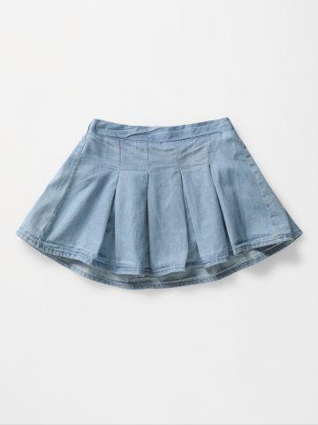 חצאית ג'ינס מיני / 3M-3Y