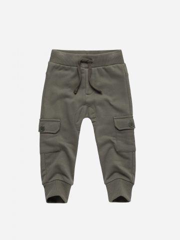 מכנסי טרנינג בסגנון דגמ״ח / 3M-6Y