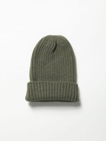 כובע גרב ריב סרוג / נשים