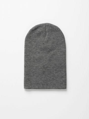 כובע גרב סרוג קלאסי