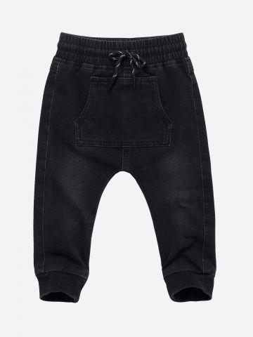 מכנסיים ארוכים דמוי ג'ינס / 3M-3Y
