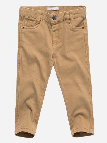 ג'ינס ארוך עם גומי במותן / 3M-3Y