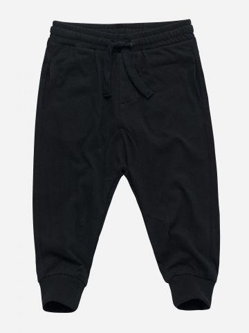 מכנסיים ארוכים עם גומי במותן / 3M-3Y
