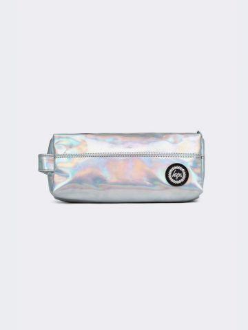 קלמר הולוגרפי מלבני עם פאץ' לוגו