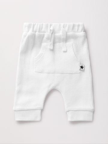 מכנסי ריב עם כיס בחזית / 0-2 Y
