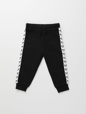 מכנסי טרנינג עם סטריפים מיקי מאוס / N.B-3Y