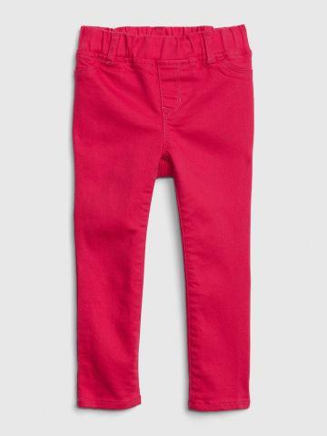 ג'ינס ארוך עם גומי במותן / 12M-5Y
