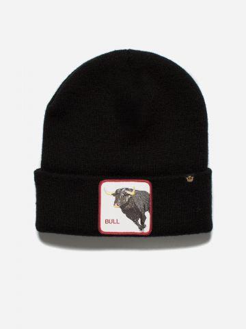כובע גרב עם פאץ' שור