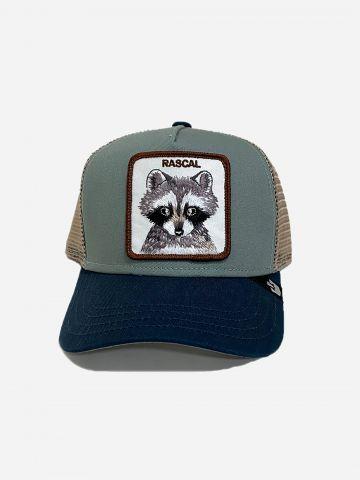 כובע מצחיה עם פאץ' רקון / בנים