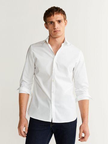 חולצה מכופתרת סלים-פיט